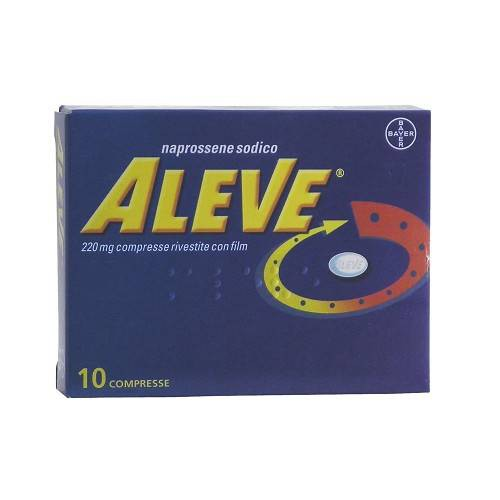 ALEVE*10CPR RIV 220MG