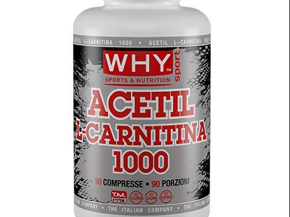 ACETIL L CARNITINA 1000 90CPR